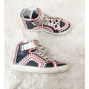 Pierre Hardy Edition Limitee Leather Sneakers 9